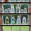 Collector - Bottles - Milk Bottles  by Mike Savad