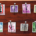 Collector - Stamp Collector - My Stamp Collection by Mike Savad