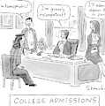 College Admissions by Danny Shanahan