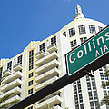 Collins Avenue by Raul Rodriguez