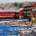 Collinsville Axe Factory by Sharon Farber
