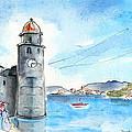 Collioure Tower by Miki De Goodaboom