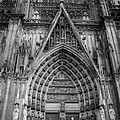 Cologne Cathedral 11 Bw by Teresa Mucha