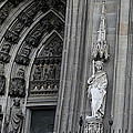 Cologne Cathedral South Side Detail 1 by Teresa Mucha