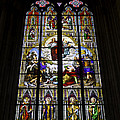 Cologne Cathedral Stained Glass Window Of St Paul by Teresa Mucha