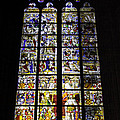 Cologne Cathedral Stained Glass Window Of St Peter And Tree Of Jesse by Teresa Mucha