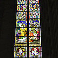 Cologne Cathedral Stained Glass Window Of St. Stephen by Teresa Mucha