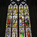 Cologne Cathedral Stained Glass Window Of The Adoration Of The Magi by Teresa Mucha