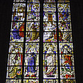 Cologne Cathedral Stained Glass Window Of The Three Holy Kings by Teresa Mucha