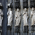 Cologne Cathedral Statuary by Bob Christopher