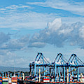 Colon Container Terminal, Panama Canal by Panoramic Images