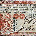 Colonial Currency, 1776 by Granger