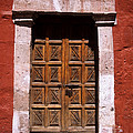 Colonial Door Arequipa Peru by James Brunker