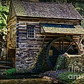 Colonial Grist Mill by Paul Ward