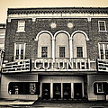 Colonial Theater In Phoenixville In Sepia by Bill Cannon