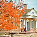 Colonial Williamsburg Courthouse by Zac Cobb