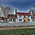 Colonial Williamsburg George Tucker House by  Gene  Bleile Photography