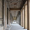 Colonnade Neues Museum Berlin by Christiane Schulze Art And Photography