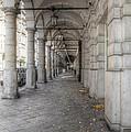 Colonnaden In Hamburg Germany by Julie Woodhouse