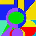 Color And Shape Series #1 by Regina Geoghan