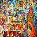 Color Castle by Leonid Afremov