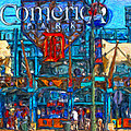Color In Comerica by John Farr