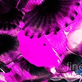 Color Infared Glass Flowers by Kathleen Struckle