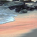 Color Of Sand Cape May Nj by Eric  Schiabor