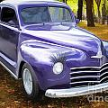 Color Painting Of A Complete 1948 Plymouth Classic Car 3389.02 by M K Miller