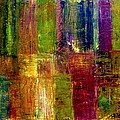 Color Panel Abstract by Michelle Calkins