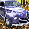 Color Photograph Of A Complete 1948 Plymouth Classic Car 3388.02 by M K Miller