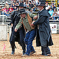 Color Rodeo Shootout Deputies Arrest Outlaw by Sally Rockefeller