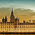 Color Study London Houses Of Parliament by Melanie Viola