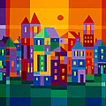 Color Town by Michael Jernegan