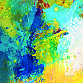 Color Wash Abstract by Regina Geoghan