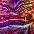 Color Wheel Digital Guitar Art By Steven Langston by Steven Lebron Langston