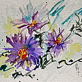 Colorado Asters by Beverley Harper Tinsley