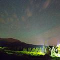 Colorado Chapel On The Rock Dreamy Night Sky by James BO Insogna