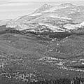 Colorado Continental Divide Panorama Hdr Bw by James BO Insogna