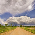 Colorado Country Road Stormin Skies by James BO  Insogna