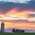 Colorado Farmers Sunset by James BO  Insogna