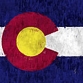 Colorado Flag by World Art Prints And Designs