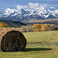 Colorado Haybale by Dave Mills