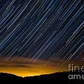 Colorado Mountain Startrails by Benjamin Reed