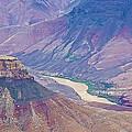Colorado River At Cape Royal On North Rim Of Grand Canyon-arizona by Ruth Hager