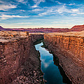 Colorado River At Marble Canyon by Erica Hanks