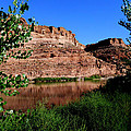 Colorado River At Moab by Marty Fancy