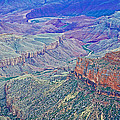 Colorado River From Walhalla Overlook On North Rim Of Grand Canyon-arizona by Ruth Hager