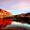 Colorado River Lees Ferry Painting by Bob and Nadine Johnston