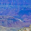 Colorado River Two At Cape Royal On North Rim Of Grand Canyon-arizona by Ruth Hager